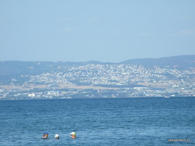 widok na Saloniki z Ag. Triada