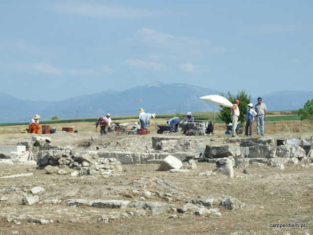 wykopaliska w Pelli