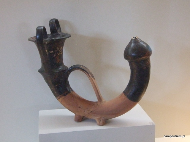 eksponat muzeum w Pella