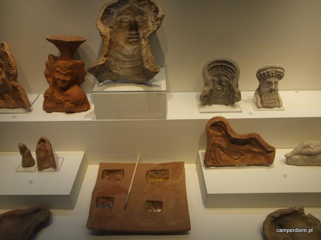 eksponaty muzeum w Pella