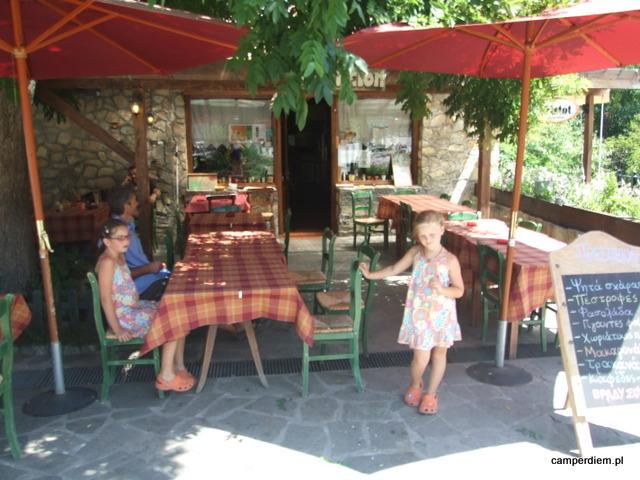tawerna Nikosa w Agios Germanos