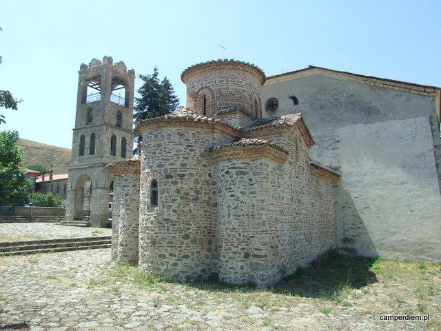 stary kosciol z XI w. Agios Germanos