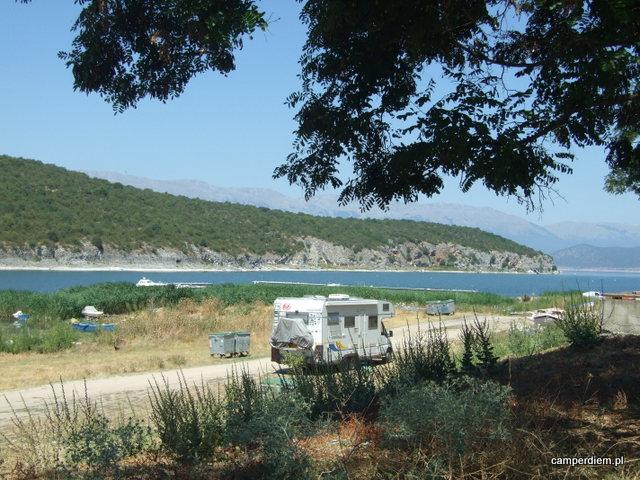 kamper w Psarades