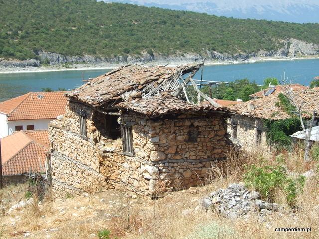 ruiny w Psarades