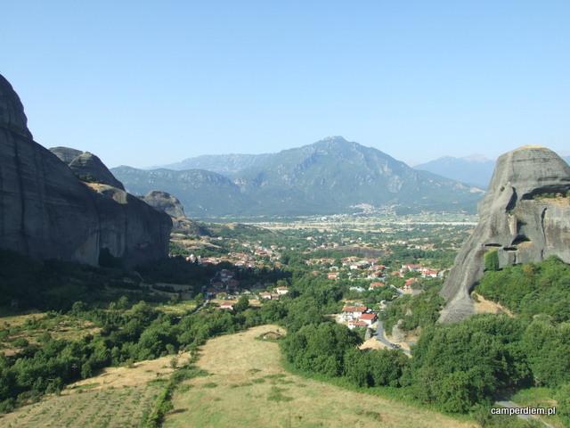 widok z monastyru Ag. Nikolaos