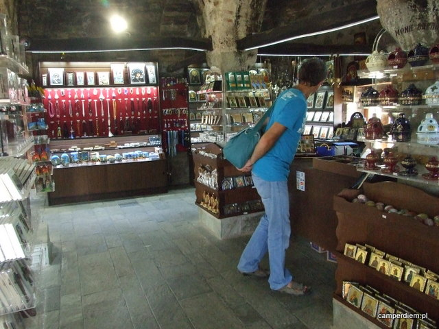 sklepik w monastyrze