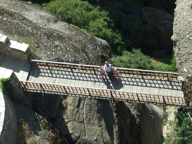most przy monastyrze Varlaam