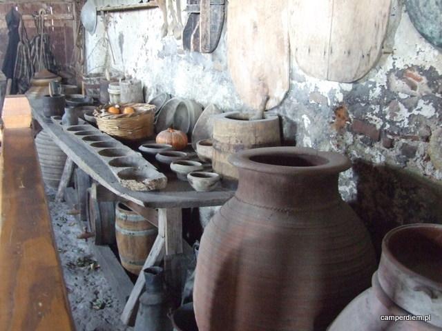 stara kuchnia w Megalou Meterou