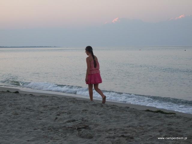 plaża w Stomio