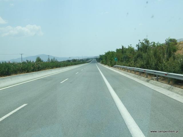 autostrada z Salonik do Aten