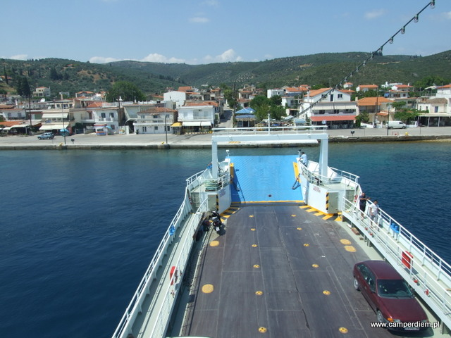 płyniemy na wyspę Evia