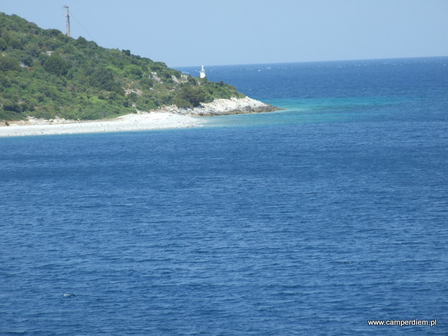 wybrzeże w okolicy Glyfa