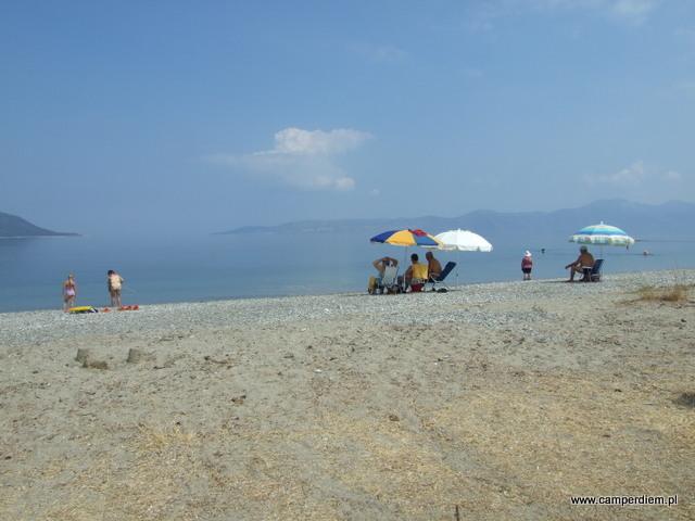 na plaży Kanatadika