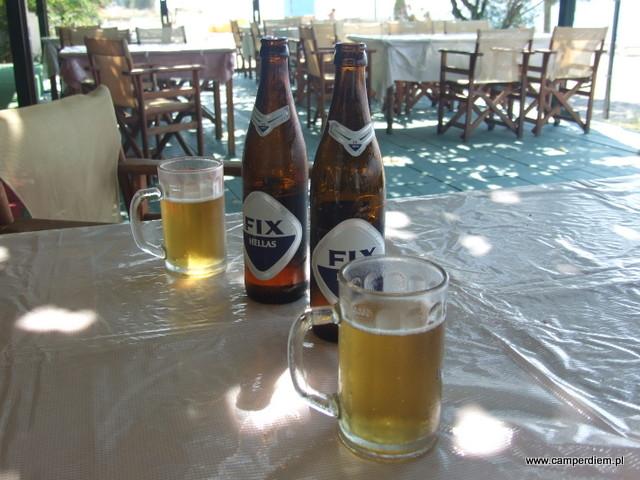 od tej chwili nasze ulubione greckie piwo - Fix