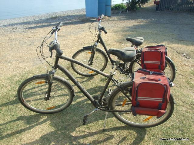 pierwszy raz na tym wyjeździe wyciągamy rowery