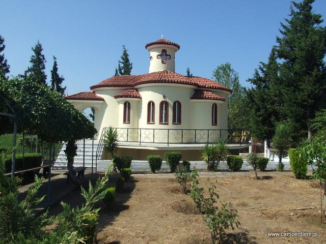 kościół św. Mikołaja w okolicy Mantoudi