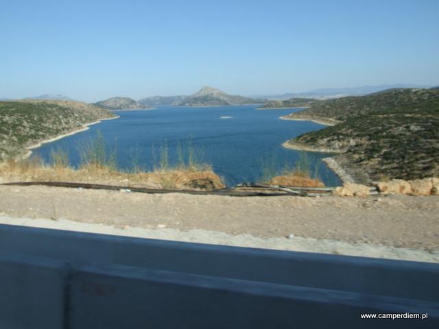 autostrada z Aten na północ