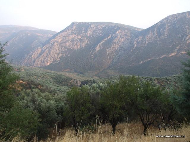 góry wokół Delf