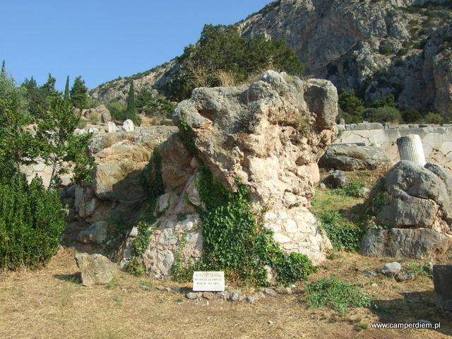 skała Sybilli w Delfach