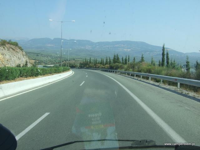 droga z Termopili na północ