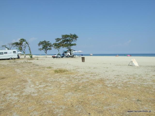 plaża Korinos