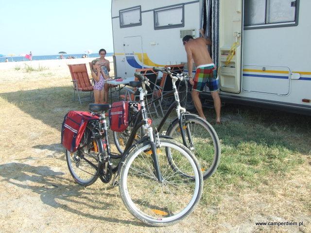 przejażdżka rowerowa po Korinos