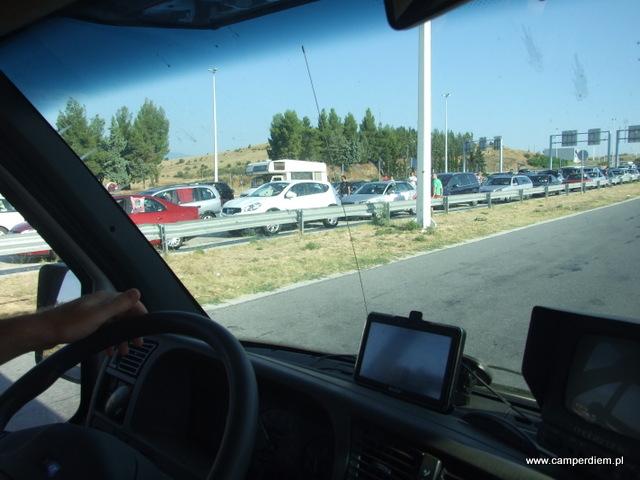 na granicy grecko-macedońskiej