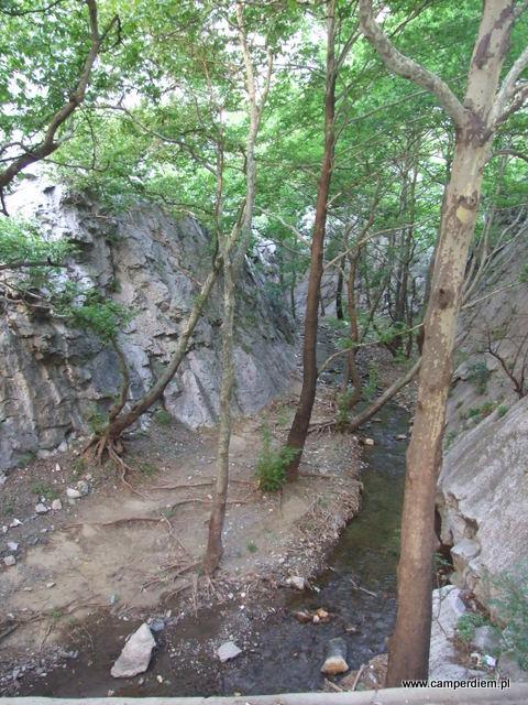 punkt widokowy Demir Kapija w Macedonii