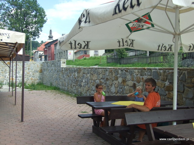 restauracji Hotelu Kolonial w Skalite
