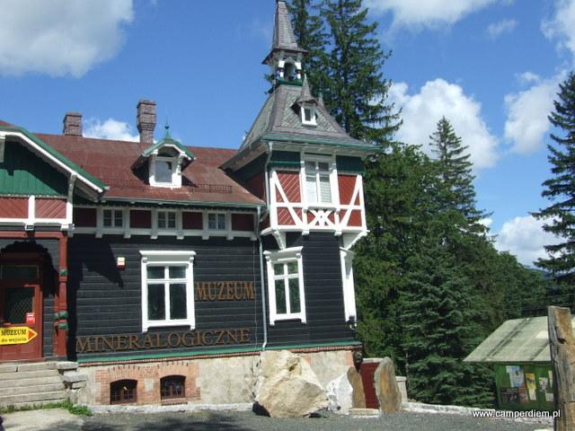 muzeum minerałów w Szklarskiej Porębie