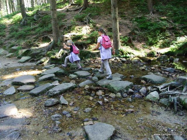 droga do wodospadu Kamieńczyka