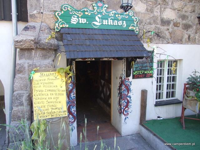 restauracja św. Łukasz w Szklarskiej Porębie