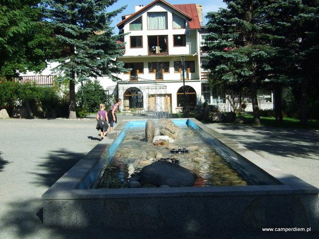 park miejski w Karpaczu
