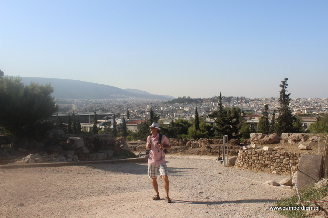 panorama Aten z Akropolu