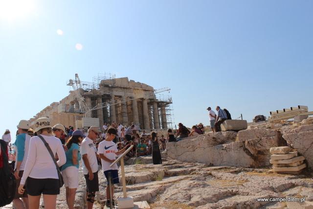chaos na Akropolu
