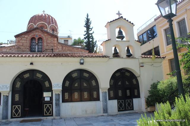kościół św. Katarzyny w Atenach
